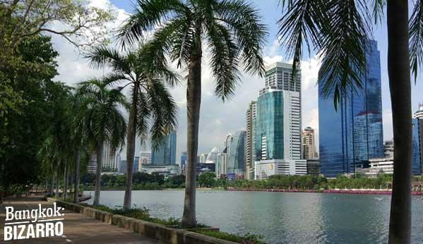 parque Queen Sirikit Bangkok