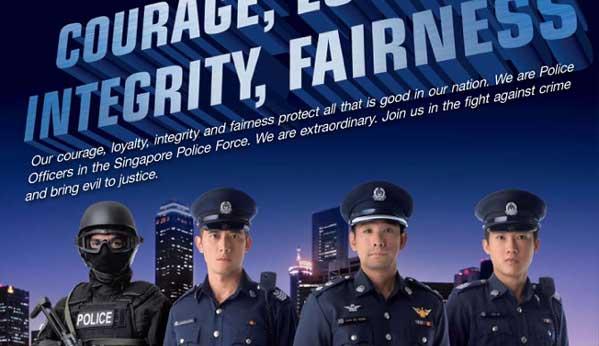 Policía de Singapur