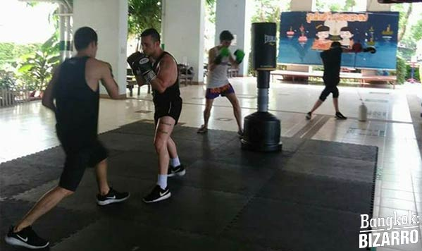 gimnasio boxeo bangkok