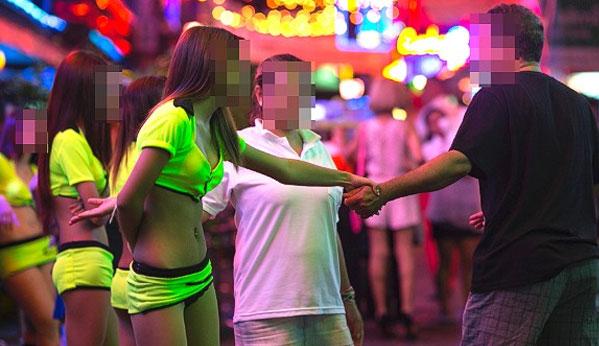 Luces rojas prostitución Bangkok