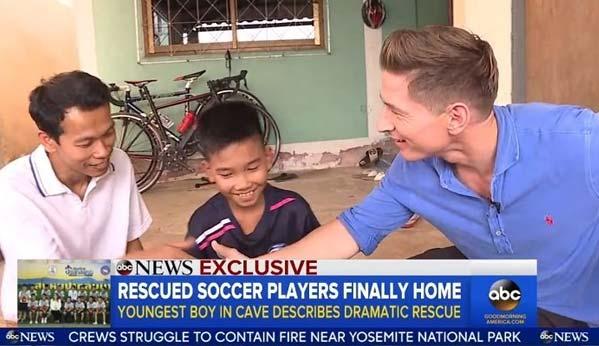 ABC News cobertura niños Tham Luang
