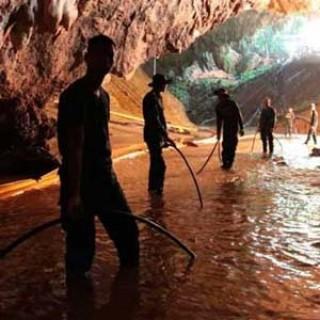 Los niños en la cueva de Tailandia