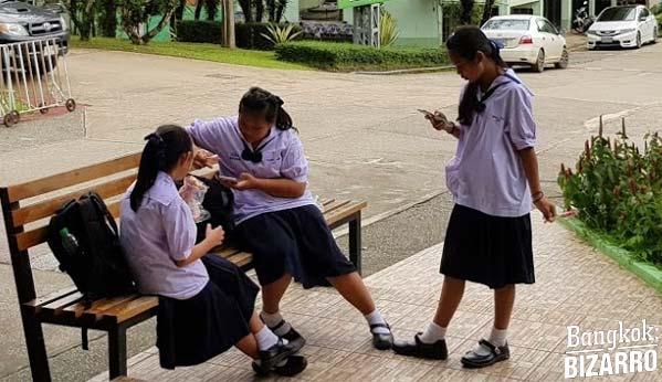 Escuela en Tailandia