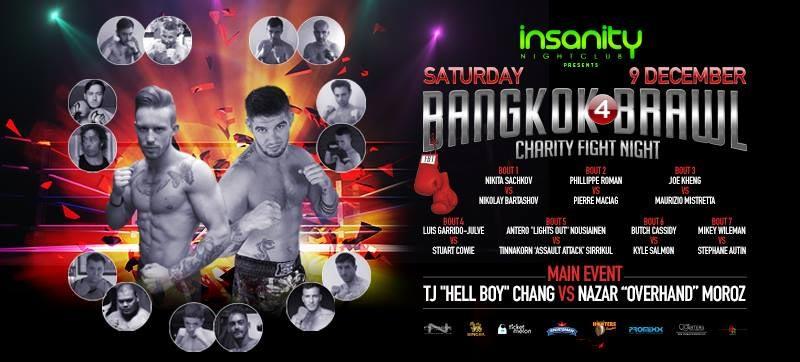 Velada Boxeo en Bangkok