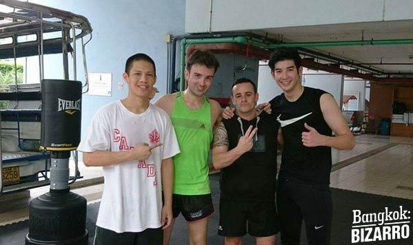 Entreno boxeo Bangkok