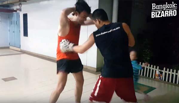 Boxeo Bangkok entreno