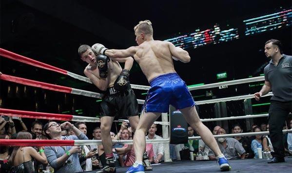 Velada de boxeo en Bangkok