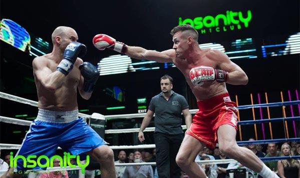 Puñetazos en velada de boxeo en Bangkok
