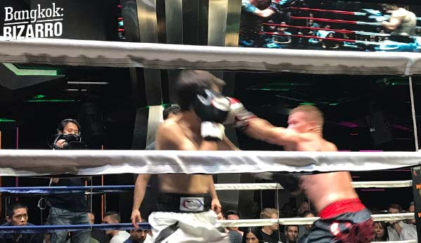 Puñetazo boxeo