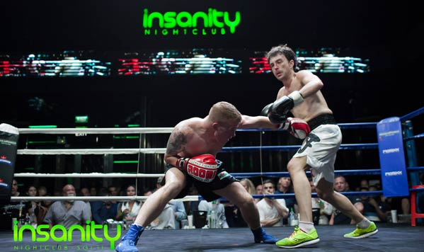 Puñetazos boxeo golpes Tailandia