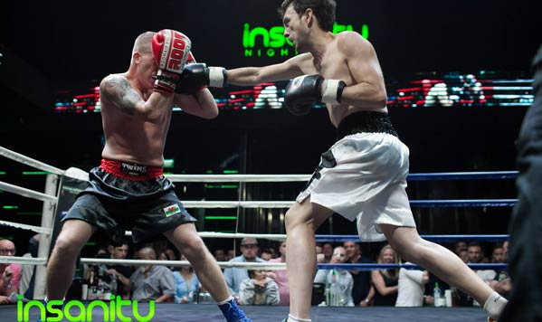 Pelea de boxeo en Tailandia