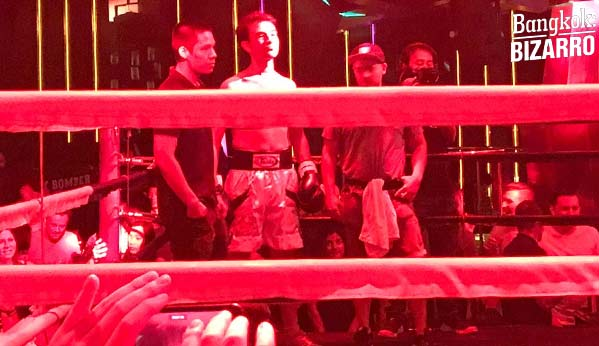 Ring boxeo Bangkok