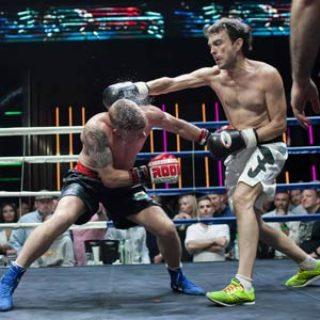 Pelea de boxeo en Bangkok