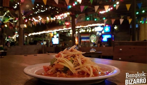 Restaurantes en Bangkok comida tailandesa