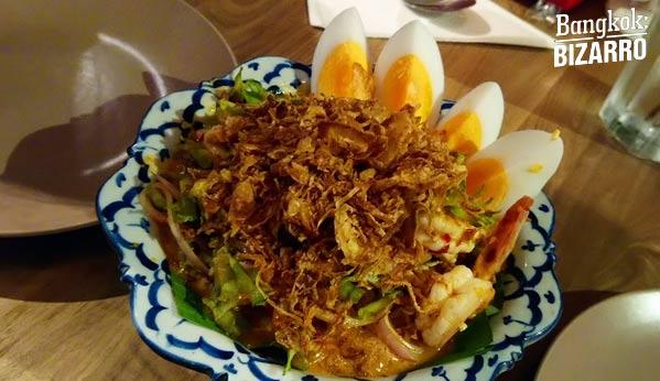 Comida tailandesa en Bangkok