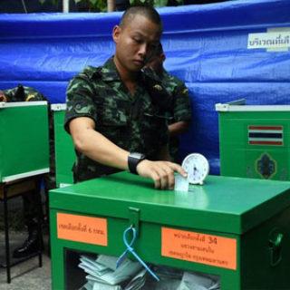 Elecciones en Tailandia 2019 resultados