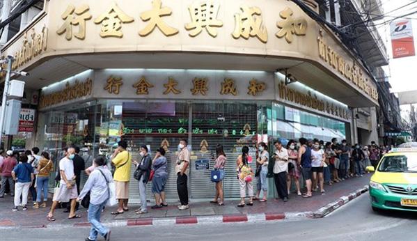 Tailandia venta de oro