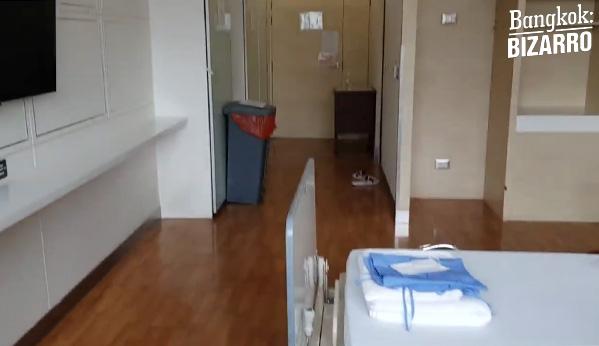habitación hospital Tailandia