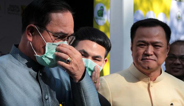 Políticos Tailandia coronavirus