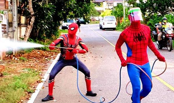 spiderman Chiang Mai disfraz