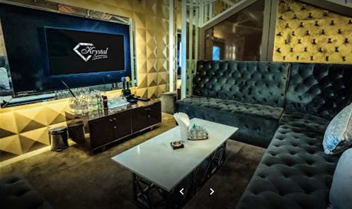 Sala privada discoteca Bangkok