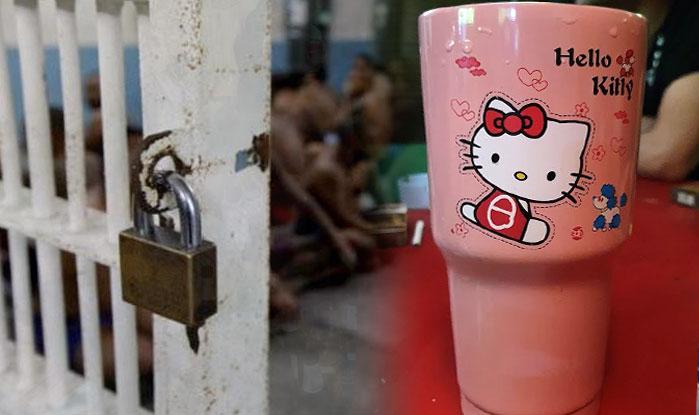Cárcel Bangkok y Hello Kitty