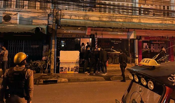 Redada en bar de Bangkok